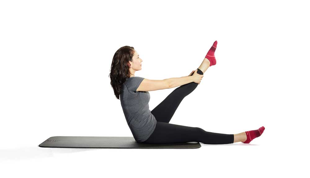 Pilates Tree on Mat